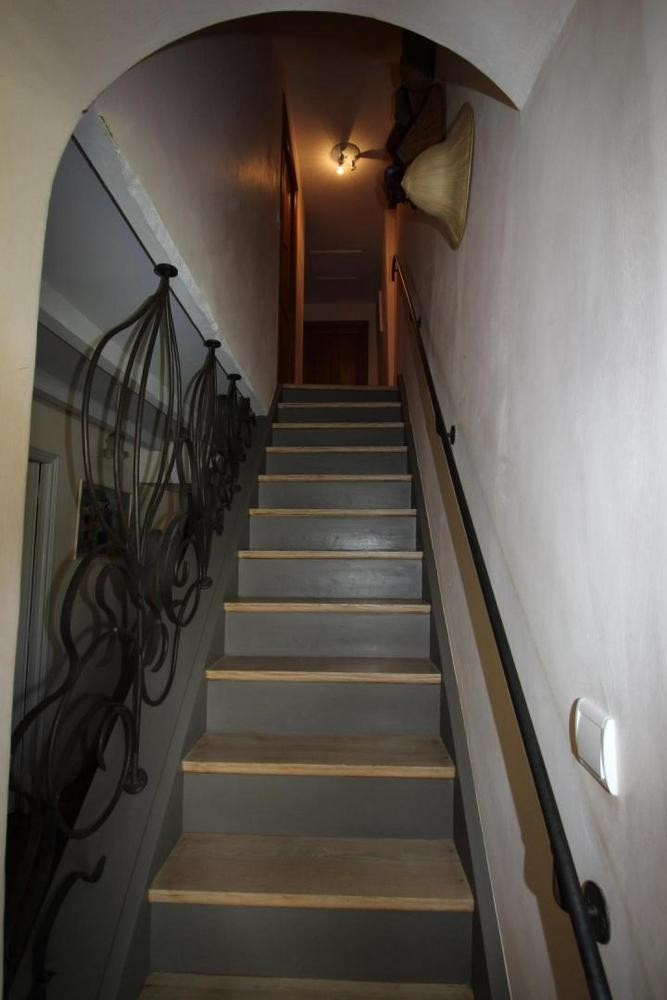 Escalier chambres gite