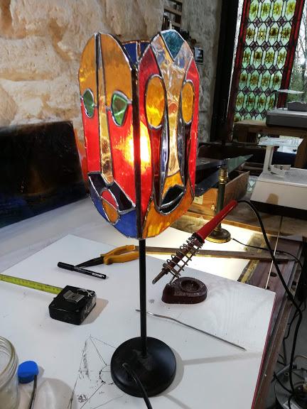 Lampe Tiffany (Cléo)