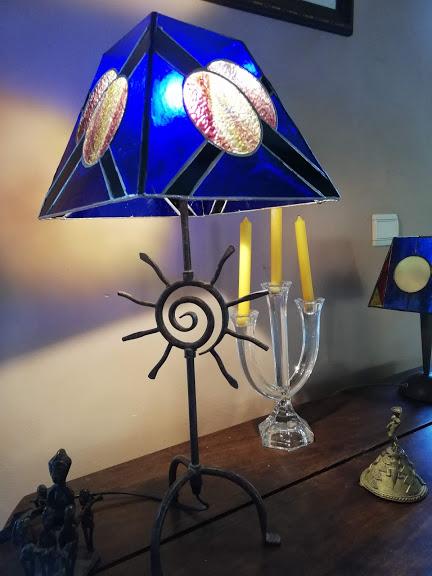 lampe TIFFANY,ATELIER