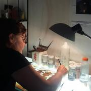 Myriam a l atelier